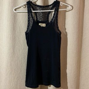 Hollister tank top with a Lacey razor back